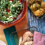 chickensaladhasselbackpotatoes