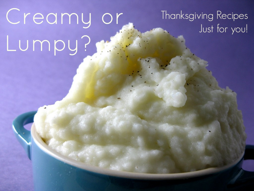 Mashers AD Creamy or Lumpy